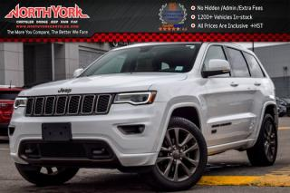 Used 2017 Jeep Grand Cherokee Limited 75th Anniversary 4x4|Pano_Sunroof|Nav|Sat|Bluetooth for sale in Thornhill, ON