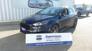 Used 2017 Ford Focus ST 2.0L Ecoboost 6 Spd, Loaded for sale in Stratford, ON