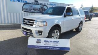 Used 2017 Ford Expedition Platinum 3.5L Eco 380Hp for sale in Stratford, ON