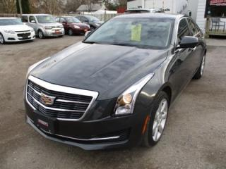 Used 2015 Cadillac ATS LOADED 'SPORTY' ATS4 MODEL 5 PASSENGER 2.0L - DOHC TURBO.. AWD.. LEATHER.. HEATED SEATS.. AUX/USB INPUT.. BOSE AUDIO.. for sale in Bradford, ON