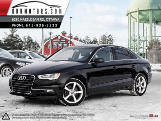 Used 2015 Audi A3 2.0T Premium Sedan quattro S tronic for sale in Stittsville, ON