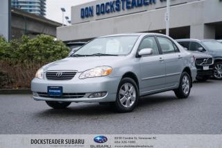 Used 2007 Toyota Corolla 4-door Sedan LE 4A-Base for sale in Vancouver, BC