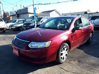 Used 2005 Saturn Ion Midlevel,,LOW KMS!!,certified for sale in Oshawa, ON