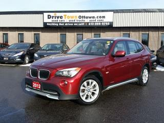 Used 2012 BMW X1 28i XDRIVE **PANA ROOF & LEATHER SEATS** for sale in Gloucester, ON