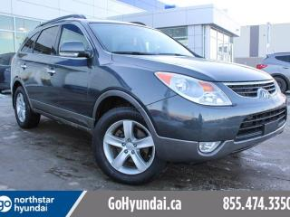 Used 2012 Hyundai Veracruz Limited 7 PASS/LEATHER/NAV/BACKUPCAM for sale in Edmonton, AB