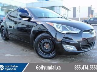 Used 2013 Hyundai Veloster Tech LEATHER/SUNROOF/NAV/WINTER TIRES for sale in Edmonton, AB