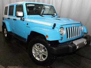 Used 2017 Jeep Wrangler Unlimited Sahara 4x4 Chief / GPS Navigation / Heated Front Seats for sale in Edmonton, AB