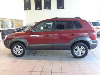 Used 2007 Hyundai Tucson GLS - 4X4, Heated Leather Seats, Sunroof + CD Player! for sale in Red Deer, AB
