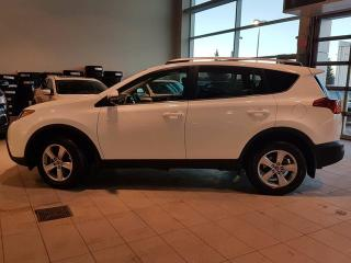 Used 2015 Toyota RAV4 Nav, B/U Cam, Sunroof, Media Inputs and Heated Leather Seats! for sale in Red Deer, AB