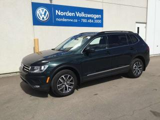 Used 2018 Volkswagen Tiguan COMFORTLINE 4MOTION AWD - VW CERTIFIED / LEATHER / SUNROOF for sale in Edmonton, AB