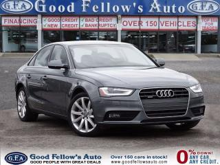 Used 2014 Audi A4 COMFORT, LEATHER, SUNROOF, QUATTRO for sale in North York, ON