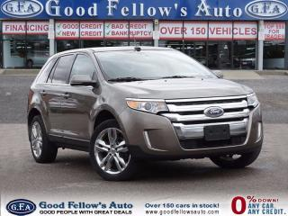 Used 2014 Ford Edge LIMITED, LEATHER SEATS, PANORAMA ROOF, 6CYL 3.5 L for sale in North York, ON