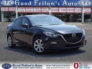 Used 2015 Mazda MAZDA3 GX MODEL, Power Windows, Keyless plus Many More! for sale in North York, ON