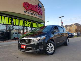 Used 2015 Kia Sedona LX POWER DOORS H-TED SEATS REAR CAM ALLOYS for sale in Scarborough, ON