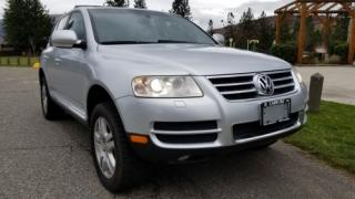 Used 2005 Volkswagen Touareg V8 for sale in West Kelowna, BC