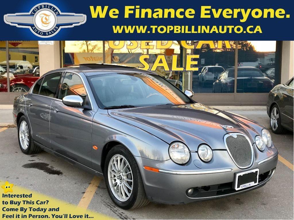 2007 Jaguar S-Type 3.0 Leather, Sunroof, 2 Years Warranty