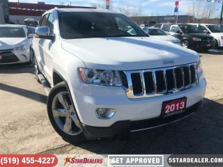 Used 2013 Jeep Grand Cherokee Limited | LEATHER | ROOF | NAV | 4X4 for sale in London, ON