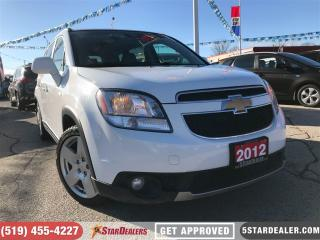 Used 2012 Chevrolet Orlando LTZ | LEATHER | DVD | 7PASS | HEATED SEATS for sale in London, ON