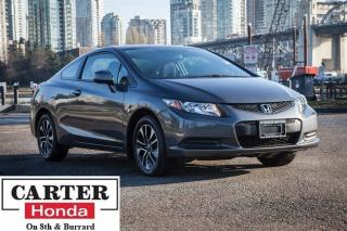 Used 2013 Honda Civic EX + SUNROOF + LOCAL + CERTIFIED! for sale in Vancouver, BC