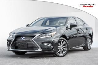 Used 2016 Lexus ES 300 h Sedan | Hybrid | Automatic for sale in Whitby, ON
