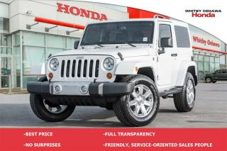 Used 2013 Jeep Wrangler Sahara   Automatic for sale in Whitby, ON