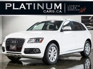 Used 2014 Audi Q5 2.0T QUATTRO, PANO ROOF, HEATED LTHR, POWER HATCH for sale in North York, ON