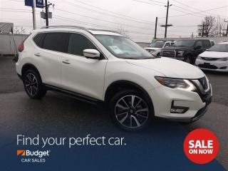 Used 2017 Nissan Rogue SL Platinum, Navigation, 360 Camera, Low Kms for sale in Vancouver, BC