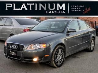 Used 2007 Audi A4 2.0T QUATTRO, PREMIU for sale in North York, ON