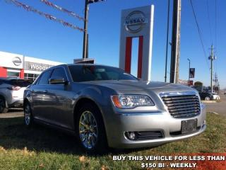 Used 2014 Chrysler 300C Base  - SiriusXM - $149.81 B/W for sale in Woodstock, ON