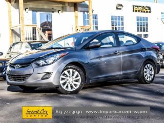 Used 2011 Hyundai Elantra GL for sale in Ottawa, ON