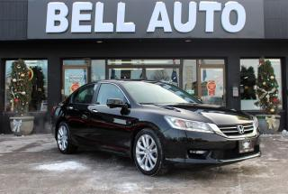 Used 2014 Honda Accord TOURING NAVIGATION BACKUP + SIDE CAMERA  LOADED for sale in North York, ON