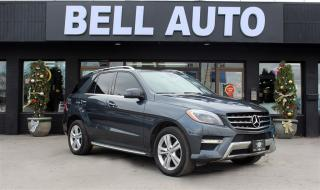 Used 2013 Mercedes-Benz ML-Class ML350 BLUETEC NAVIGATION PANOROOF REARCAM LEATHER for sale in North York, ON