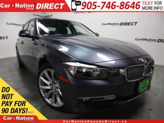 Used 2013 BMW 320i i xDrive| LEATHER| SUNROOF| PUSH START| for sale in Burlington, ON