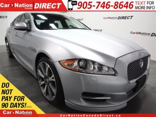 Used 2015 Jaguar XJ 3.0L Premium Luxury| DUAL SUNROOF| NAVI| for sale in Burlington, ON