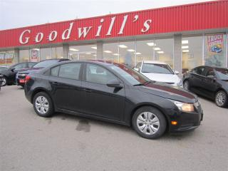 Used 2013 Chevrolet Cruze LS! for sale in Aylmer, ON