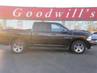 Used 2010 Dodge Ram 1500 SPORT! CREW CAB! FACTORY REMOTE START! for sale in Aylmer, ON