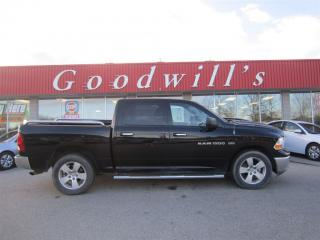 Used 2012 Dodge Ram 1500 SLT! CREW CAB! CLEAN CARPROOF! for sale in Aylmer, ON