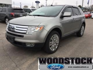 Used 2008 Ford Edge Limited for sale in Woodstock, ON