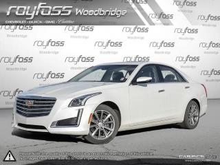 Used 2017 Cadillac CTS 3.6L Luxury ROOF. NAV. BACKUP CAM for sale in Woodbridge, ON