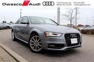 Used 2015 Audi A4 TFSI quattro Progressiv w/ Rearview Cam for sale in Whitby, ON
