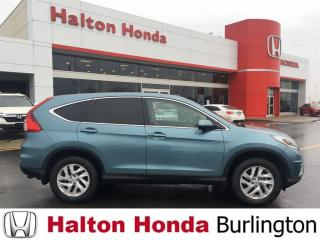 Used 2015 Honda CR-V EX|ONE OWNER|ACCIDENT FREE for sale in Burlington, ON