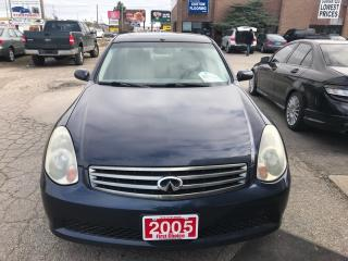Used 2005 Infiniti G35 Sedan Luxury for sale in Kitchener, ON