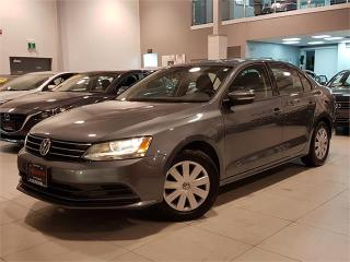 Used 2016 Volkswagen Jetta Sedan TRENDLINE-AUTO-CAMERA-HEATED SEATS-ONLY 56KM for sale in York, ON