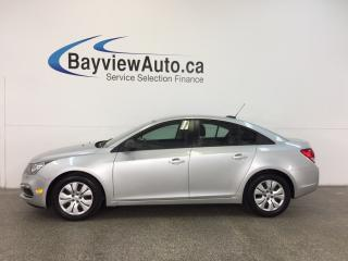 Used 2015 Chevrolet Cruze LS- 1.8L|A/C|ON STAR|LOW KM|BUDGET BUDDY! for sale in Belleville, ON