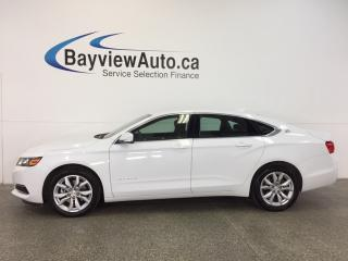 Used 2017 Chevrolet Impala LT-2.5L|DUAL CLIMATE|REV CAM|WIF|BLETOOTH|CRUISE! for sale in Belleville, ON