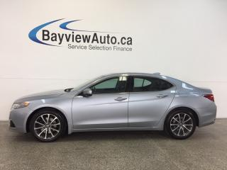 Used 2015 Acura TLX SH- AWD|3.5L|REM STRT|ROOF|HTD LTHR|NAV|BSA! for sale in Belleville, ON
