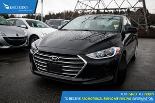 Used 2017 Hyundai Elantra LE Heated Seats, Cruise Control, Hands Free Calling for sale in Port Coquitlam, BC