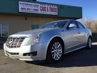 Used 2012 Cadillac CTS Base $109.61 BI WEEKLY! $0 DOWN! CERTIFIED! for sale in Bolton, ON