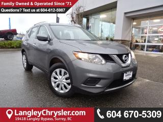 Used 2016 Nissan Rogue S *ACCIDENT FREE * LOCAL BC CAR * for sale in Surrey, BC