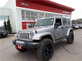 Used 2016 Jeep Wrangler Unlimited Sahara for sale in Newmarket, ON